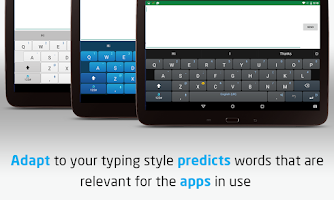 Screenshot of Adaptxt Free Keyboard