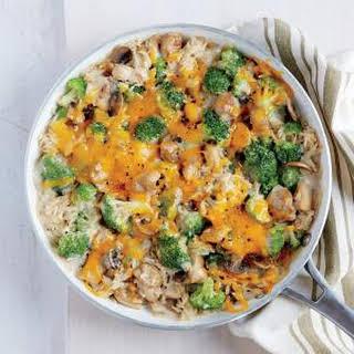 Chicken, Broccoli, and Brown Rice Casserole.