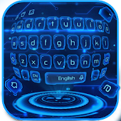 Hologram Keyboard Theme