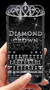 Luxury Crown Keyboard Theme - náhled