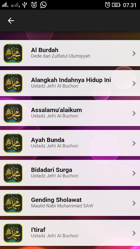 Sholawat Nabi Mp3 Lengkap Apk 1 0 Download Free Music