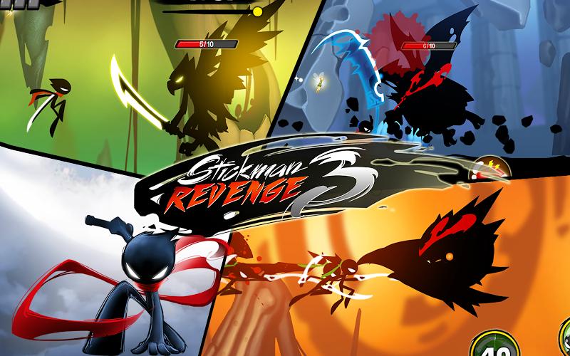 Stickman Revenge 3 - Ninja Warrior - Shadow Fight Screenshot 15