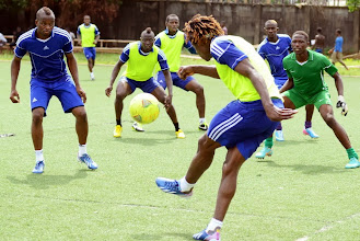 Photo: [Leone Stars Training Camp in advance of Tunisia Game, June 2013 (Pic: Darren McKinstry)]