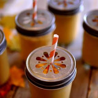Creamy Pumpkin Smoothies.