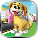 Happy Puppy Run Dog Play Games icon
