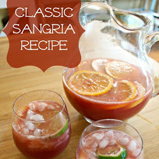 Best Fruity And Sweet Sangria.