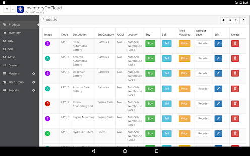 Inventory Management On Cloud- screenshot thumbnail