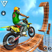Tricky Bike Stunt Race 3d Racing - New Bike Games
