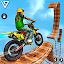 Crazy Bike Stunt Racing Games : Bike Racing 3D icon