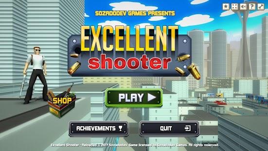 Excellent Shooter - náhled