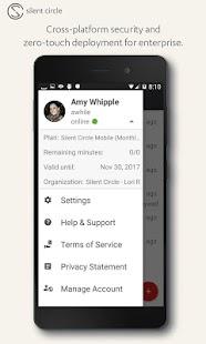 Silent Phone - private calls Screenshot