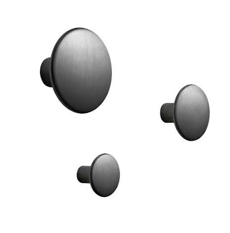 Dots metal Black