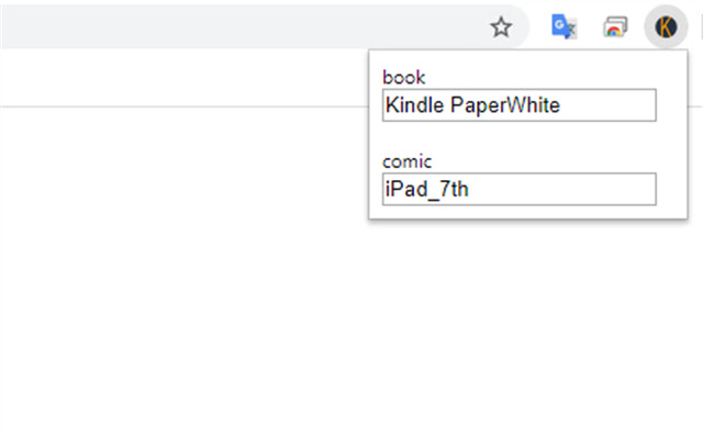 Kindle Device Selector for amazon.co.jp