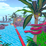 Floor is on lava Mini Golf Tropical Paradise