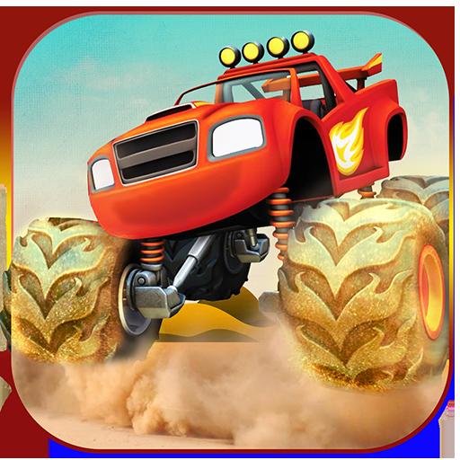 怪物卡车越野野生动物园 賽車遊戲 App LOGO-APP開箱王