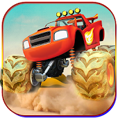 Monster Truck Offroad Stunts