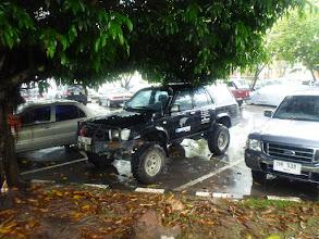 Photo: Na letištním parkovišti v Hat Yai strávil v prosinci José více než dva týdny.
