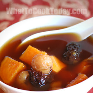 CHINESE SWEET POTATO AND GINGER SOUP