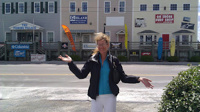 Photo: Surf City NC. Lisa in beautiful downtown.