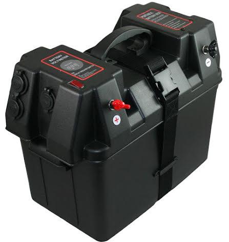 Batteribox inkl, band 425x250x310 Smart Power