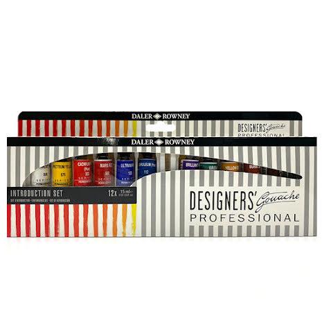 Daler-R. Designers Gouache set 12x15ml
