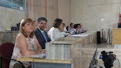 Mabel Hernández junto al resto de los, hasta hoy, compañeros de grupo