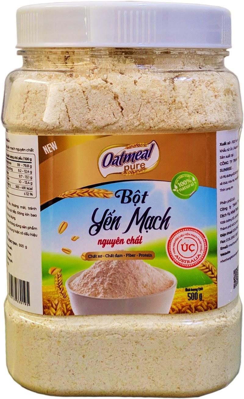 Bột yến mạch Oatmeal Dưỡng da bằng bột yến mạch
