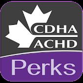CDHA Perks