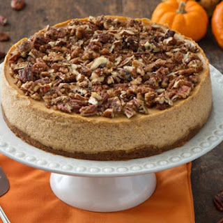 Nutty Pumpkin Cheesecake
