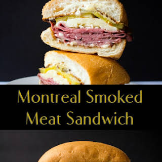 Smoked Meat Sandwich Recipes.
