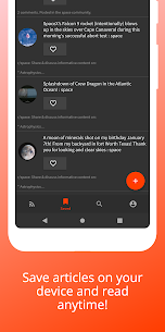 Plenary – RSS feed & offline RSS reader, News Feed (MOD, Premium) v2.2.1 2