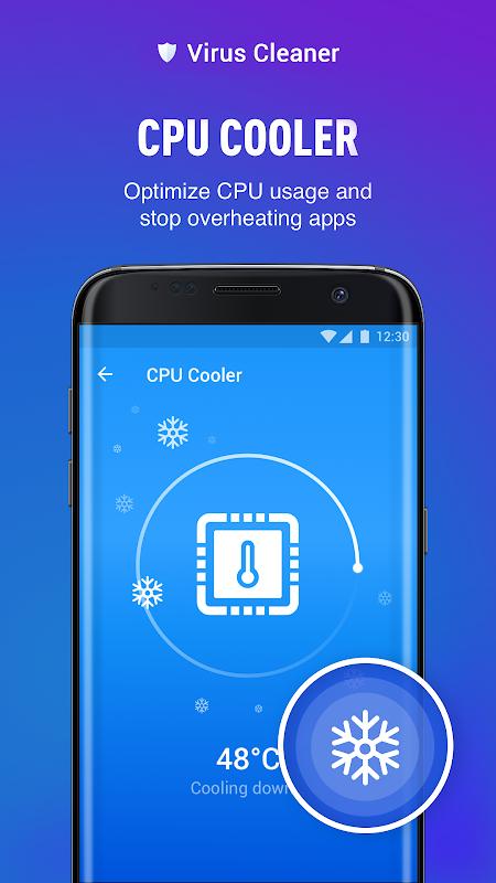 Virus Cleaner 2019 - Antivirus, Cleaner & Booster screenshots