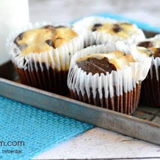 Cheesecake Brownie Cupcakes.