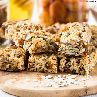 Oat & Fruit Chocolate Chip Granola Bars
