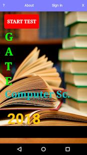 GATE CS ONLINE TEST - náhled