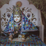 Baby deity of Srimati Radharani at Raval