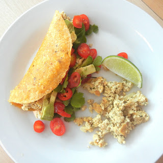 Scrambled Tofu Breakfast Tacos.