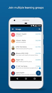 Eckovation: Group Learning and Messaging App- screenshot thumbnail