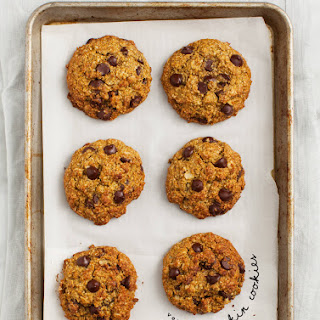Pumpkin Oatmeal Chocolate Chip Cookies (vegan & gluten free)