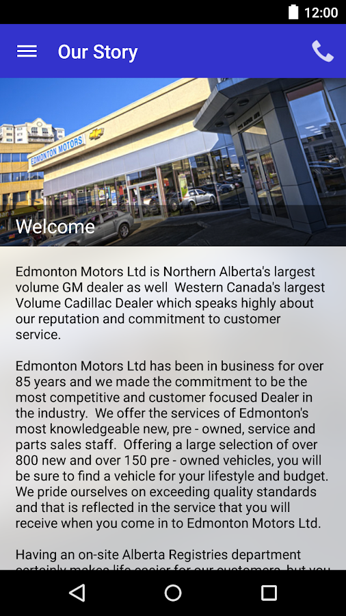 Edmonton Motors Ltd Dealerapp Android Apps On Google Play