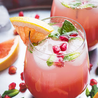 Cheery Grapefruit Margaritas
