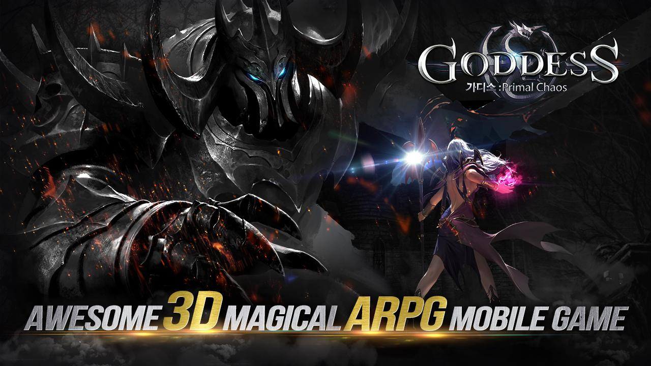 Goddess: Primal Chaos - Free 3D Action MMORPG Game- screenshot