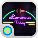Neon Lights Hola Theme icon