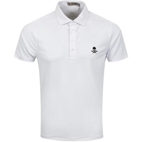 G/Fore X Golf Fashion Online Polo Vit