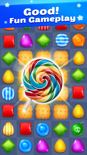 Lollipop Candy: Sweet Match 3 Puzzle Game 9.6.6 Cheat screenshots 3