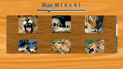 Tiger Jigsaw Puzzle game (apk) free download for Android/PC/Windows screenshot