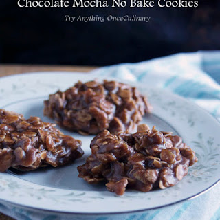 Chocolate Cookie Butter No Bake Cookies