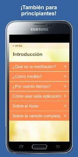 Meditación Diaria Screenshot