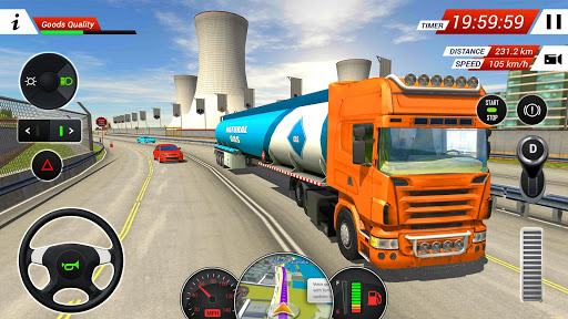 Oil Tanker Transporter Truck Simulator  screenshots 4