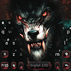 Fierce Scary Wolf Keyboard Theme